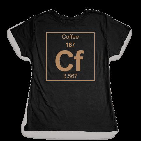 Coffee Womens T-Shirt
