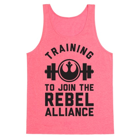 Training To Join The Rebel Alliance Tank Top