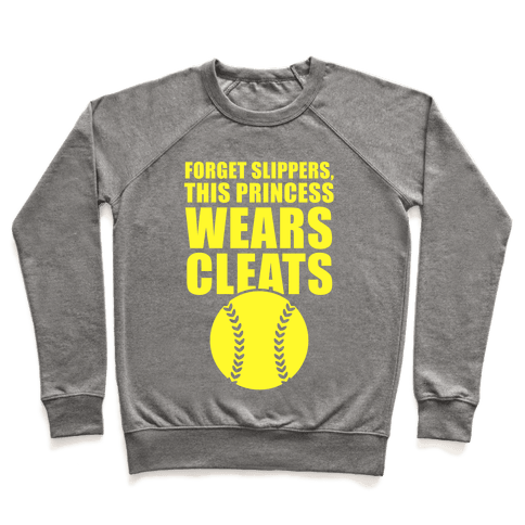 This Princess Wears Cleats (Softball) Pullover