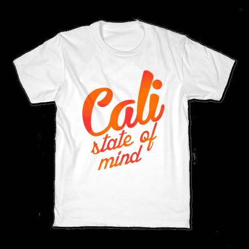 Cali State of Mind Kids T-Shirt