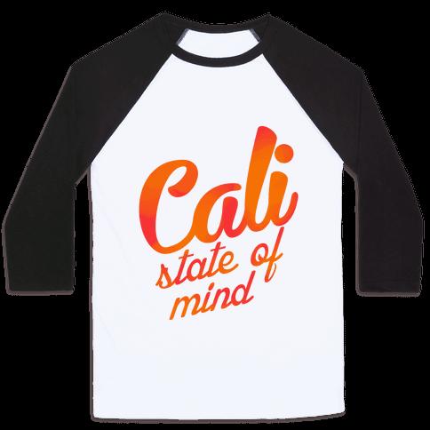 Cali State of Mind Baseball Tee