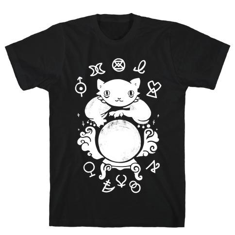 Lucky Tarot Cat #13 T-Shirt