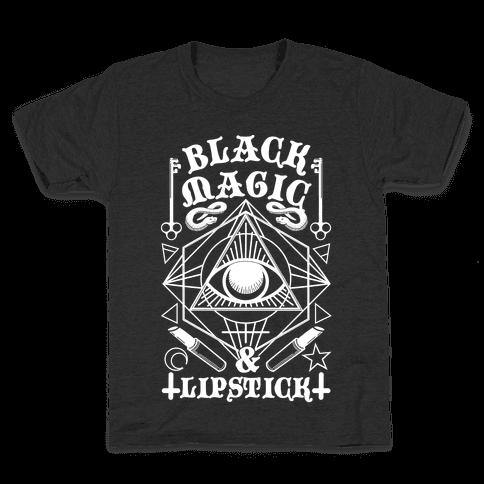 Black Magic & Lipstick Kids T-Shirt