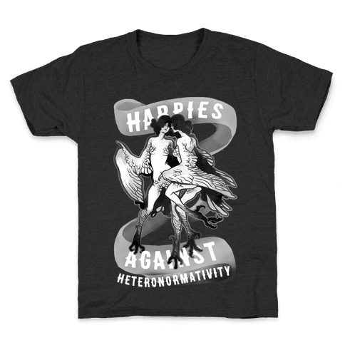 Harpies Against Heteronormativity Pri Kids T-Shirt