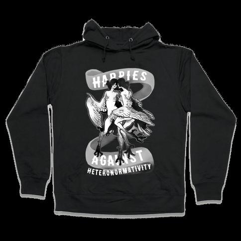 Harpies Against Heteronormativity Pri Hooded Sweatshirt