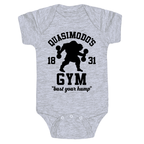 Quasimodo's Gym Baby Onesy