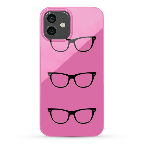 Pink Glasses Phone Case