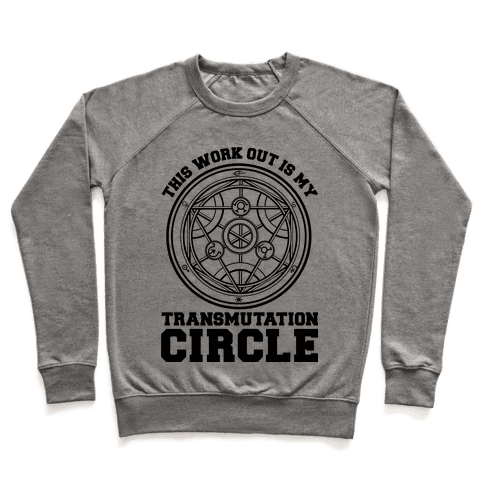 This Workout is My Transmutation Circle Pullover