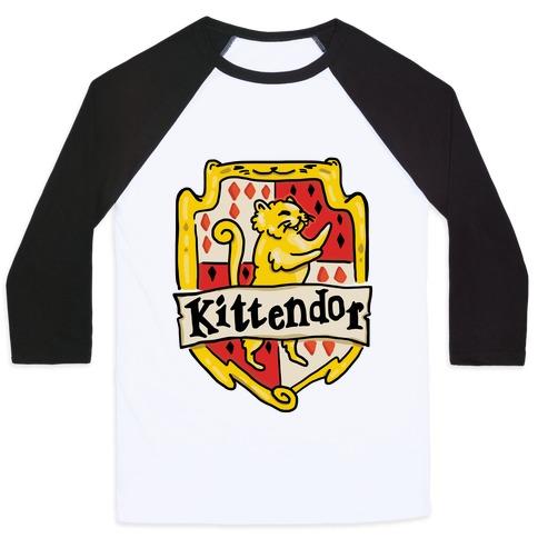 House Cats Kittendor Baseball Tee