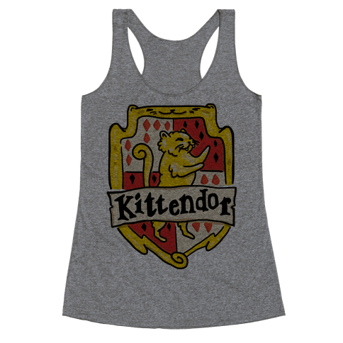 House Cats Kittendor Racerback Tank Top