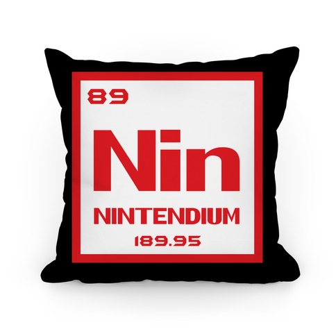 Nintendium Pillow