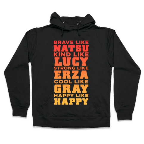 Fairy Tail Personality Hooded Sweatshirt