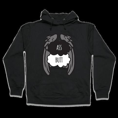 Ass Butt (TFIOS) Hooded Sweatshirt