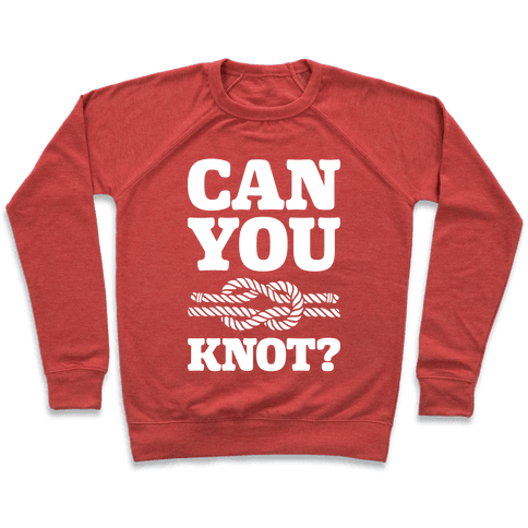 Can You Knot? Pullover