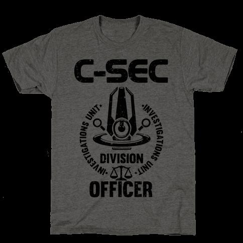 C-SEC Investigations Unit Mens T-Shirt