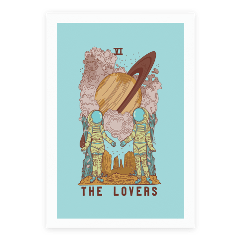 The Lovers in Space Poster