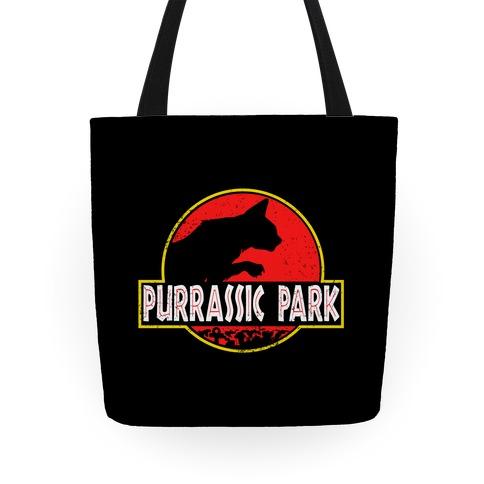 Purrassic Park Tote