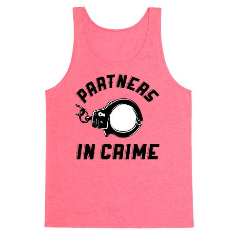 Partners in Crime Tank Top