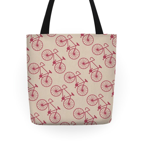 Bike Pattern Tote