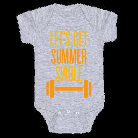 Summer Swole Baby Onesy