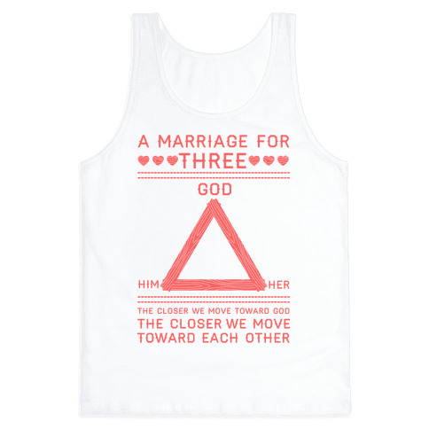 The Closer We Move Toward God Tank Top