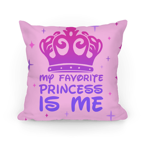 My Favorite Princess Pillow