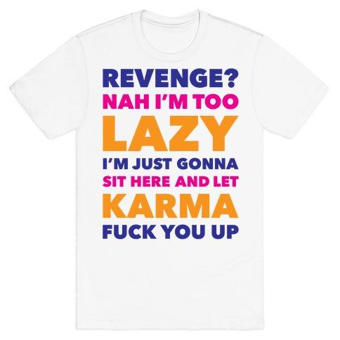 Revenge Mens T-Shirt