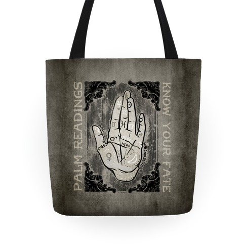 Palm Reading Tote