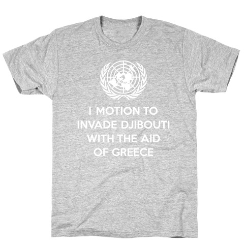 Perverted United Nations Mens T-Shirt