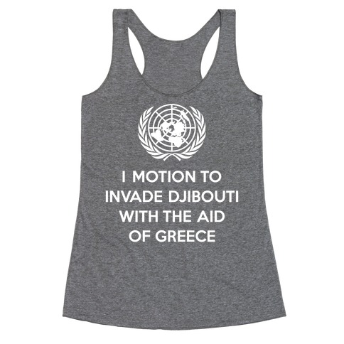 Perverted United Nations Racerback Tank Top