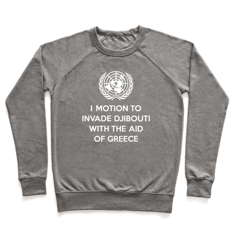 Perverted United Nations Pullover