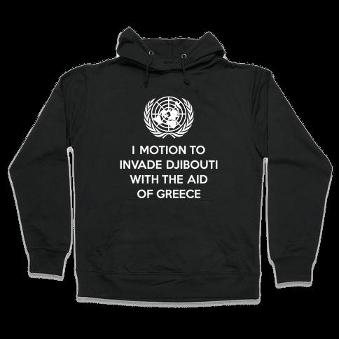 Perverted United Nations Hooded Sweatshirt