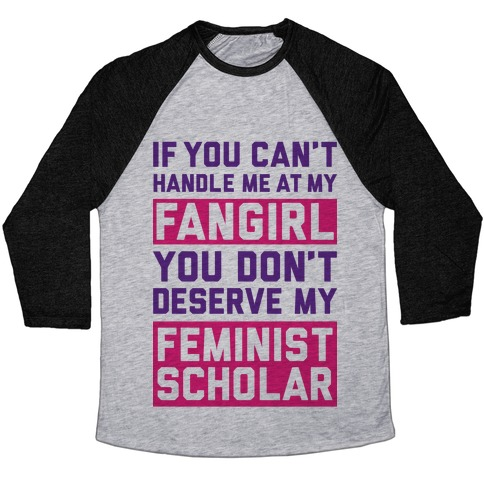 Handle Me At My Fangirl Baseball Tee