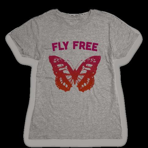 Fly Free Womens T-Shirt