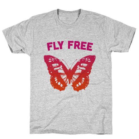 Fly Free Mens T-Shirt