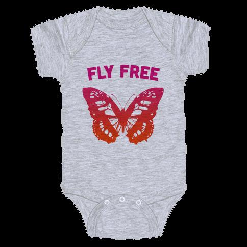 Fly Free Baby Onesy