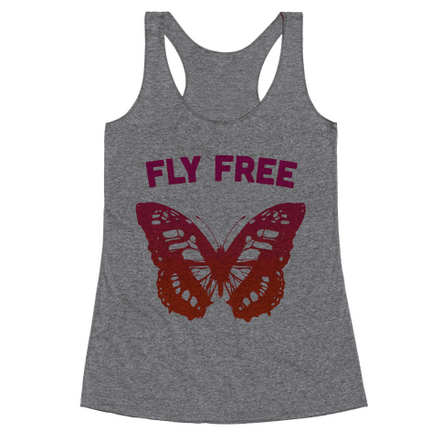 Fly Free Racerback Tank Top