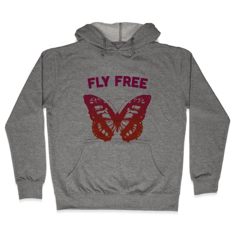 Fly Free Hooded Sweatshirt