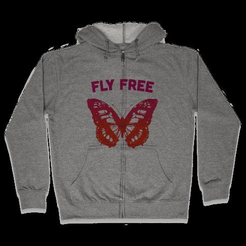 Fly Free Zip Hoodie
