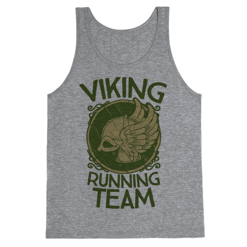 Viking Running Team Tank Top