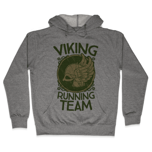 Viking Running Team Hooded Sweatshirt