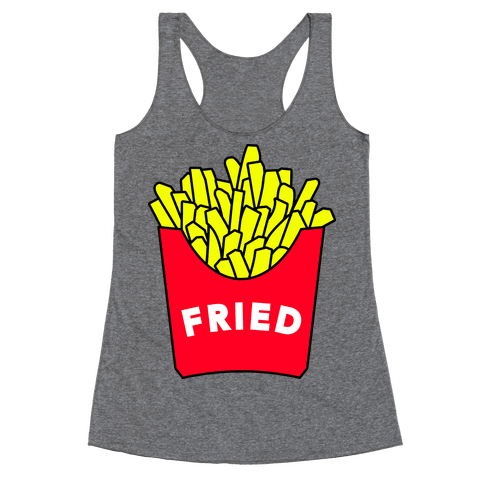 FEELING FRIED Racerback Tank Top
