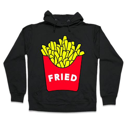 FEELING FRIED Hooded Sweatshirt