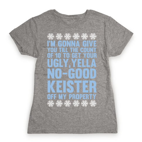 Ugly, Yella, No-Good Keister Womens T-Shirt