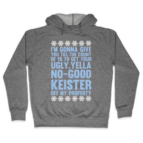 Ugly, Yella, No-Good Keister Hooded Sweatshirt