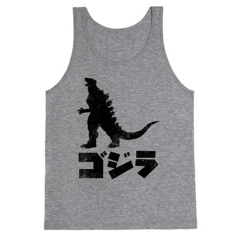 Godzilla (Vintage) Tank Top