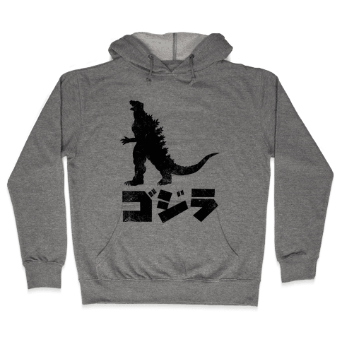 Godzilla (Vintage) Hooded Sweatshirt