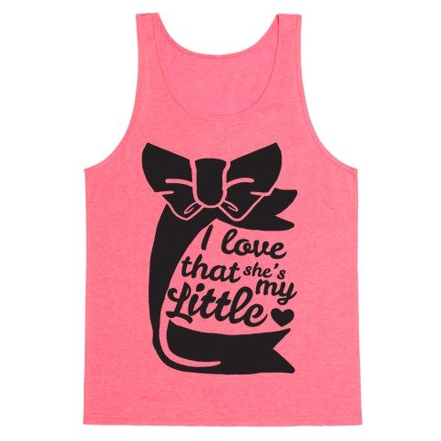 I Love She's My Sister (Little) Tank Top