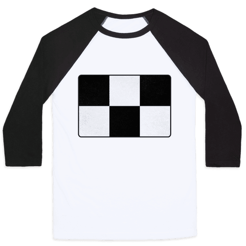 Yume Nikki Sweater Pattern Baseball Tee