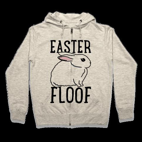 Easter Floof Zip Hoodie